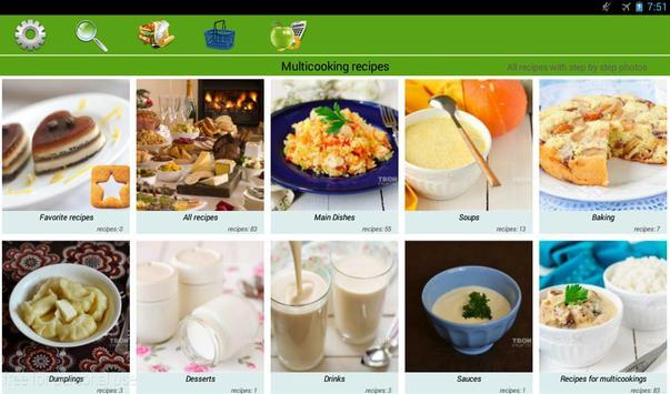 Multicooking recipes apk screenshot