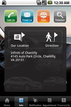 Infiniti of Chantilly apk screenshot