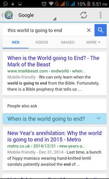 Search Engines   All in One apk screenshot