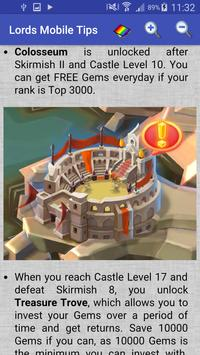 Lords Mobile Tips apk screenshot