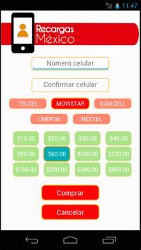 Recargas Mexico apk screenshot