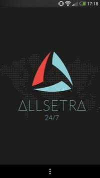 Allsetra B.V. poster