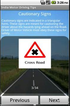 India Motor Driving Tips apk screenshot