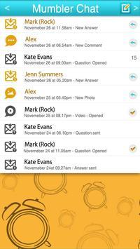 Mumbler Chat apk screenshot