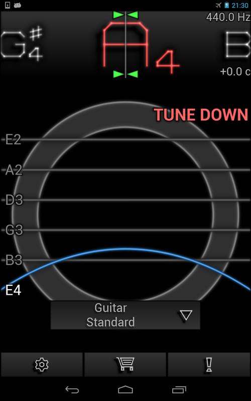pitchlab guitar tuner pro apk download free music audio app for android. Black Bedroom Furniture Sets. Home Design Ideas