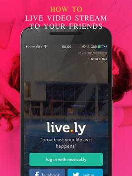 Free Live.ly Musical.ly Guide apk screenshot