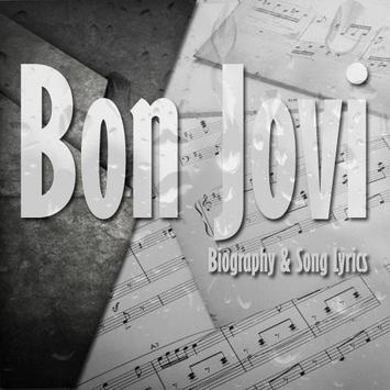Bon Jovi Lyrics poster