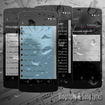 Bon Jovi Lyrics apk screenshot