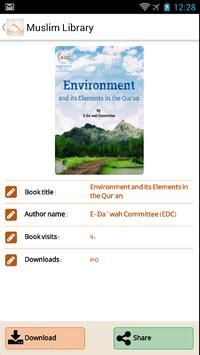 Muslim e-Library apk screenshot
