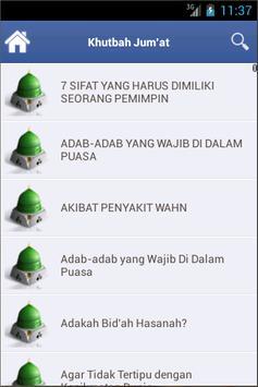 Kumpulan khutbah apk screenshot