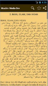 Syarah Arbain Nawawi apk screenshot