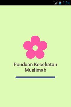 Panduan Kesehatan Muslimah poster