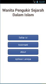 Wanita Pengukir Sejarah Islam apk screenshot