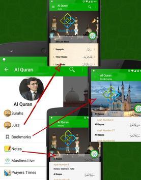 Al Quran Persian Plus Audio apk screenshot