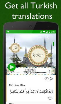 Al Quran Turkish Plus Audio poster