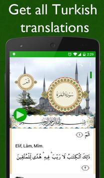 Al Quran Turkish Plus Audio apk screenshot