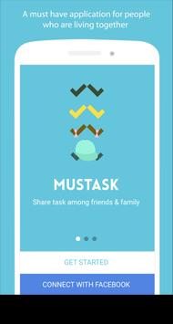 Mustask To-Do & Task Sharing poster