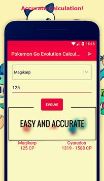 CP Calculator For PokemonGo poster