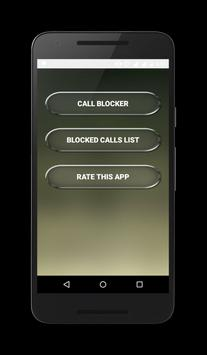 Call Blocker Mobile Call Block apk screenshot