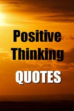 Positive Thinking Quotes FREE poster