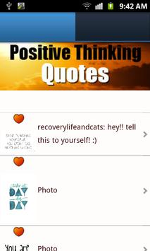Positive Thinking Quotes FREE apk screenshot