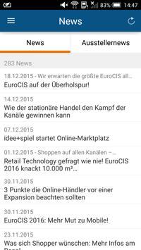 EuroCIS App apk screenshot