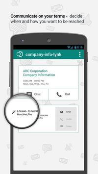 LynkUp - E-Business Messenger apk screenshot