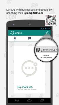 LynkUp - E-Business Messenger poster