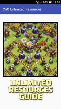 Unlimited Gems Clash Of Clans poster
