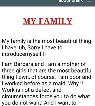 MY FAMILY STORY apk screenshot