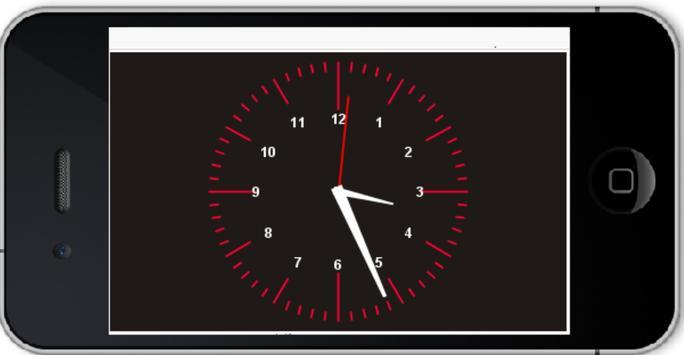 Clock New Analog apk screenshot