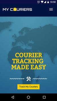 MyCouriers apk screenshot