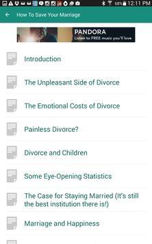 Saving your marriage apk screenshot