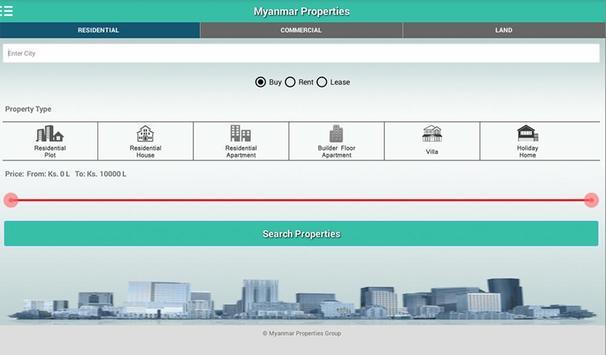 Myanmar Properties Group apk screenshot