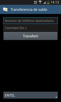 Transferencia de saldo apk screenshot