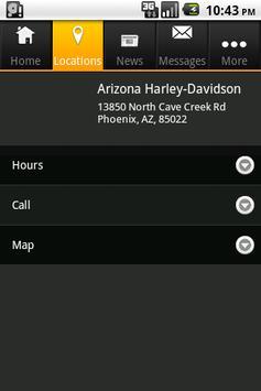 Arizona H-D apk screenshot