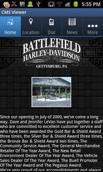 Battlefield Harley-Davidson poster