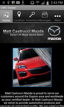 Matt Castrucci Mazda poster