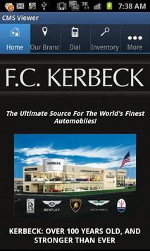 F.C. Kerbeck poster