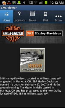 S&P Harley-Davidson poster
