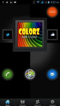 Colorz Hair Salon apk screenshot
