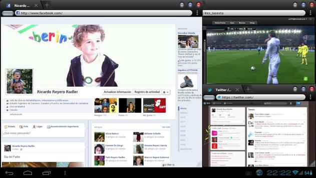 OverSkreen Floating Browser apk screenshot