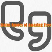 Status Quotes of Amazing Free icon