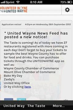 United Wayne poster