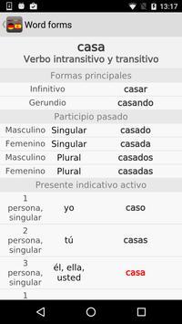 MYJMK German - Spanish Dict. apk screenshot