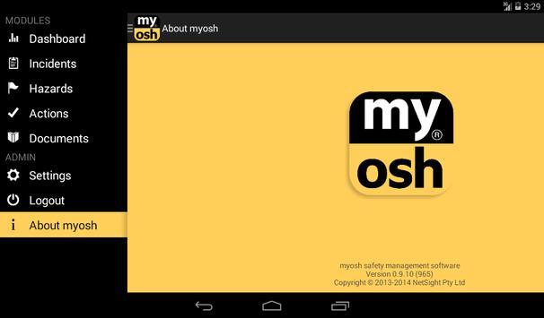 myosh apk screenshot