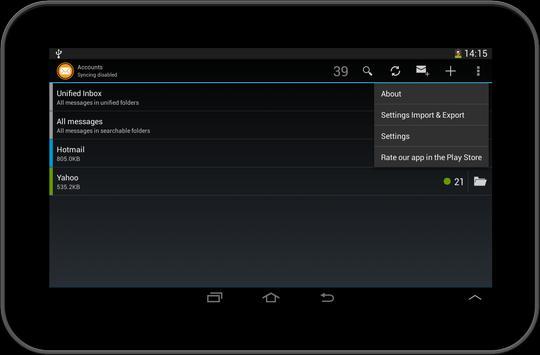 myMobileMail secure email app apk screenshot
