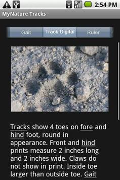 MyNature Animal Tracks Lite poster