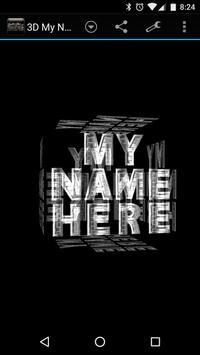 3D My Name Steampunk Fonts LWP apk screenshot