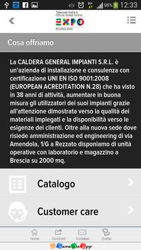 Caldera General Impianti apk screenshot